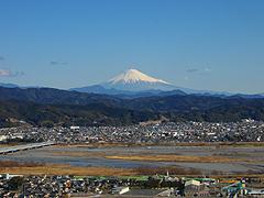 金谷の富士